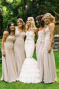 27 fantastic bridesmaid dress color ideas pretty designs With tan colored wedding dresses