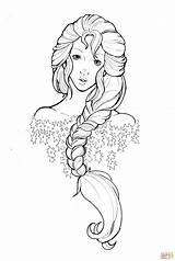 Coloring Queen Snow Namtia Anime Colouring Adult Printable Elsa Drawing Deviantart Skip sketch template
