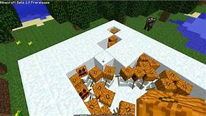 Minecraft Beta 1.9 - How to create a Snow Golem Army ...