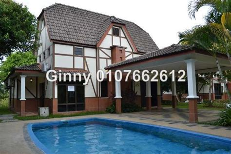 Bungalow House For Sale In Villa D'faro A Famosa, Alor