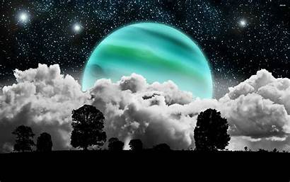 Moon Wallpapers Widescreen 1080p 3d Clouds Planet