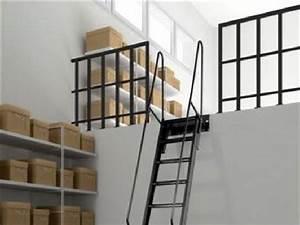 Echelle Pour Escalier : echelle d 39 acc s mezzanine escaliers et chelles ~ Melissatoandfro.com Idées de Décoration