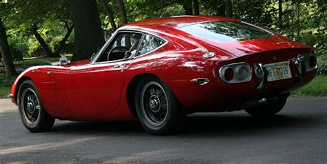 Toyota 2000gt The First Japanese Supercar