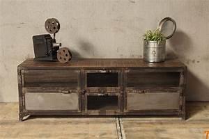 Meuble Industriel Ikea : barak 39 7 mobilier esprit industriel ~ Teatrodelosmanantiales.com Idées de Décoration
