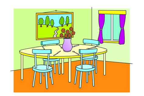 how to spell furniture dining room learnenglish council