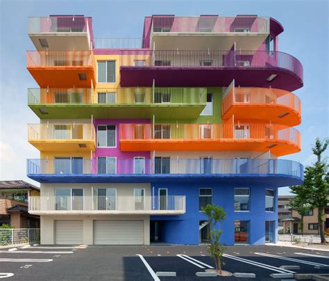 18 Cool Colorful Buildings As Great Example Of Modern