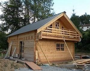 Chalet Bois Kit : chalet bois massif kit scandinave greenlife 2ch valdeblore ~ Carolinahurricanesstore.com Idées de Décoration
