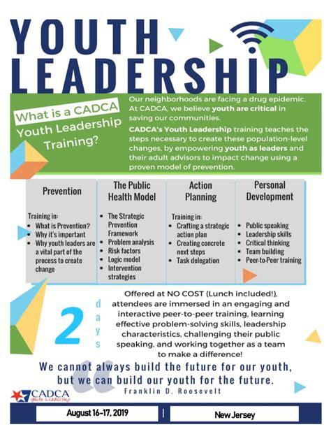 youth leadership training nj family
