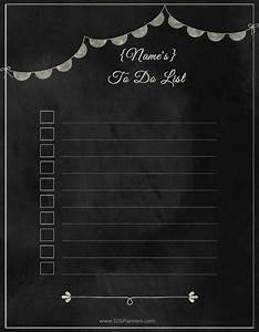 Custom Yearly Planner Printable To Do List