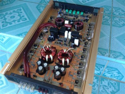 แอมป์คลาสดี BJ 2500watt มือสองสภาพสวย เดิมๆไม่เคยซ่อม ใช้ ...