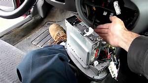 Ford Escort Radio Removal