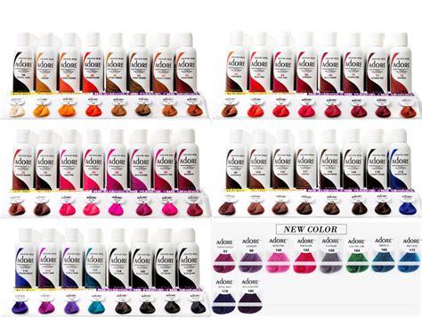 adore colors adore semi permanent hair colour hair colour hair dye
