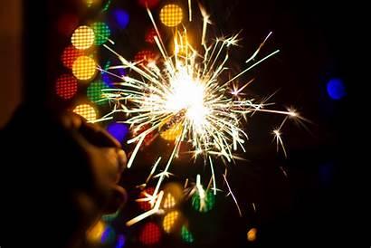 4k Celebration Celebrate Fireworks Sparkler Colourful Blur