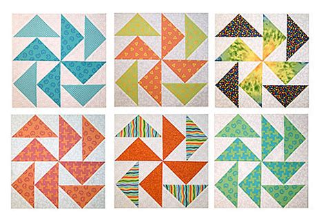 easy quick pieced flying dutchman quilt block pattern