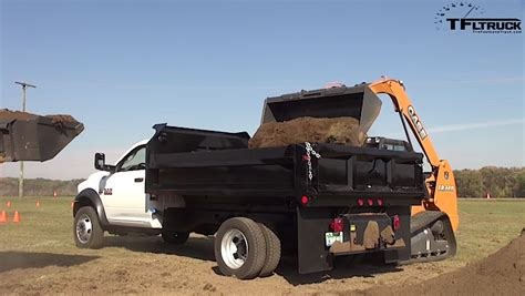 Playing In The Dirt: 2016 Ram 5500 Dump Truck First Drive