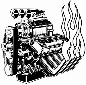 11 Engine Drawing Artistic For Free Download On Ayoqq Cliparts