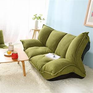 modern design floor sofa bed 5 position adjustable sofa With japanese floor sofa bed