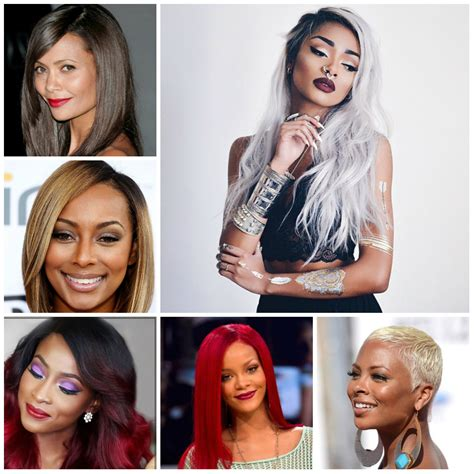 Color Hairstyles For Black Hair by 2016 Trendy Hair Color Ideas For Black 2019