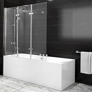 Duschtrennwand Badewanne Glas : duschabtrennung badewanne duschwand badewannenfaltwand ~ Michelbontemps.com Haus und Dekorationen