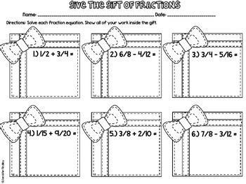 christmas math 5th grade christmas worksheets by