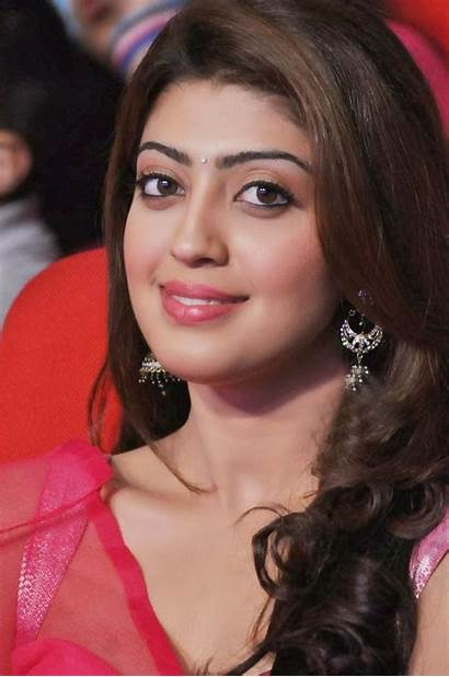 Pranitha Latest Pink Navel Saree Shoot Half