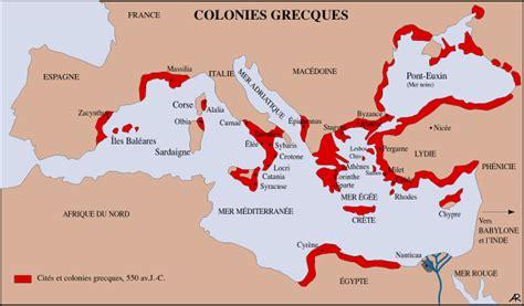 Carte Vierge Du Monde Des Cités Grecques by D Astier De La Vigerie L Europe 192 Gog Par