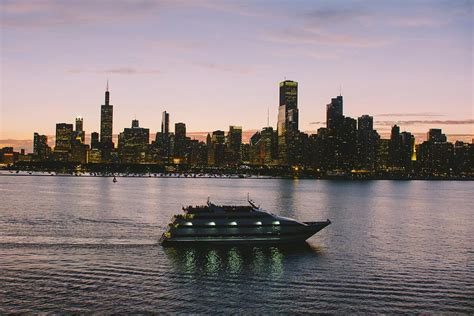 Chicago River Boat Wedding by Odyssey Cruises Chicagostyle Weddings