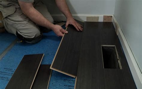 how to put laminate floor laminate flooring nail down laminate flooring