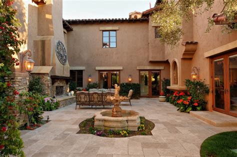 15 Luxury And Classy Mediterranean Patio Designs