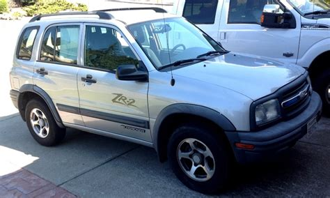 Chevrolet Tracker 2003 by 2003 Chevrolet Tracker Information And Photos Momentcar
