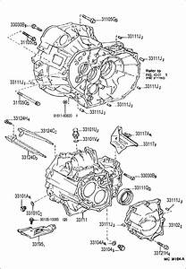 1996 Lexus Es300 Clutch Housing  U0026 Transmission Case  Mtm
