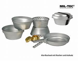 Aluminium Kochgeschirr Gesundheit : koch set alu kocher aufsatz 2 t pfe pfanne a bundeswehr shop r er hildesheim ~ Orissabook.com Haus und Dekorationen