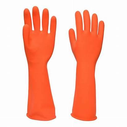 Gloves Rubber Dishwashing Household Hand Marksman Gardening