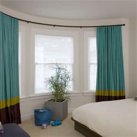 Curved Drapery Rods For Windows by 1000 Images About Curved Window Rod Ideas On