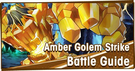 amber golem strike battle guide dragalia lost wiki