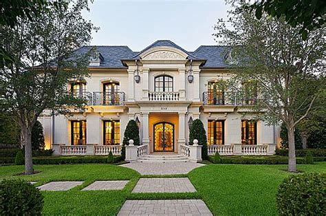 12,000 Square Foot French Inspired Home In Highland Park