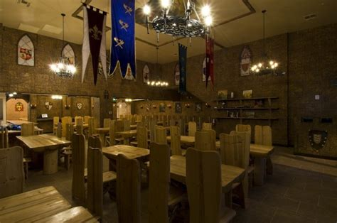party    medieval restaurant  open downtown