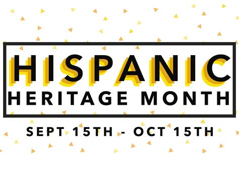 National Hispanic Heritage Month in the United States: A ...