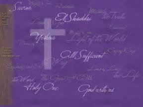 Names of Jesus Desktop Backgrounds Free
