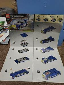 Lego Racers Rally Sprinter Manual Only  8120