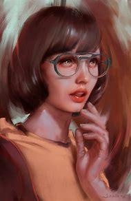 Digital Art Portrait Woman Face