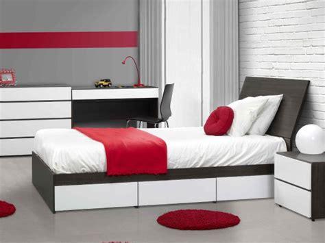 chambre a coucher style contemporain des meubles au style urbain et contemporain