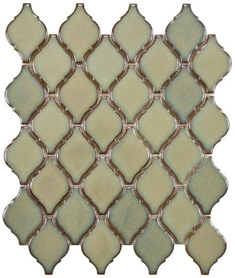 Home Depot Merola Lantern Ceramic Tile by Earthy And Colorful 1970s Style Wall And Floor Tile