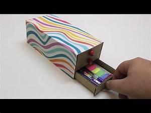 Pencil, Box, Diy, How, To, Make, A, Pencil, Case, Out, Of, Cardboard