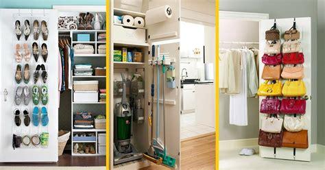 porte de placard cuisine 9 astuces géniales pour tout ranger derrière vos portes