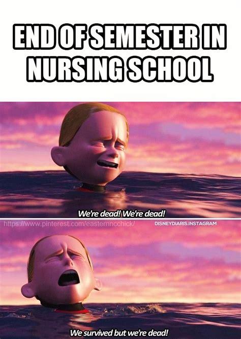 Nursing End Of School Funny Meme