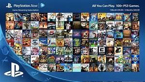 Fin de partie pour le PlayStation Now sur PS3, PS Vita...