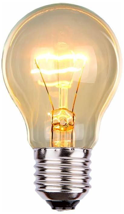 Bulb Incandescent Transparent Lightbulb Clipart Portable Led