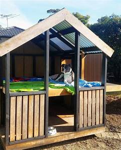 top 50 best cool dog houses pads for man39s best friend With two level dog house