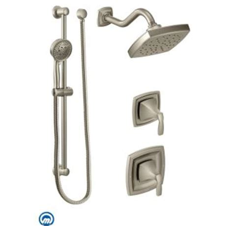 Moen Voss Faucet T6905 by Faucet 6903bn In Brushed Nickel By Moen